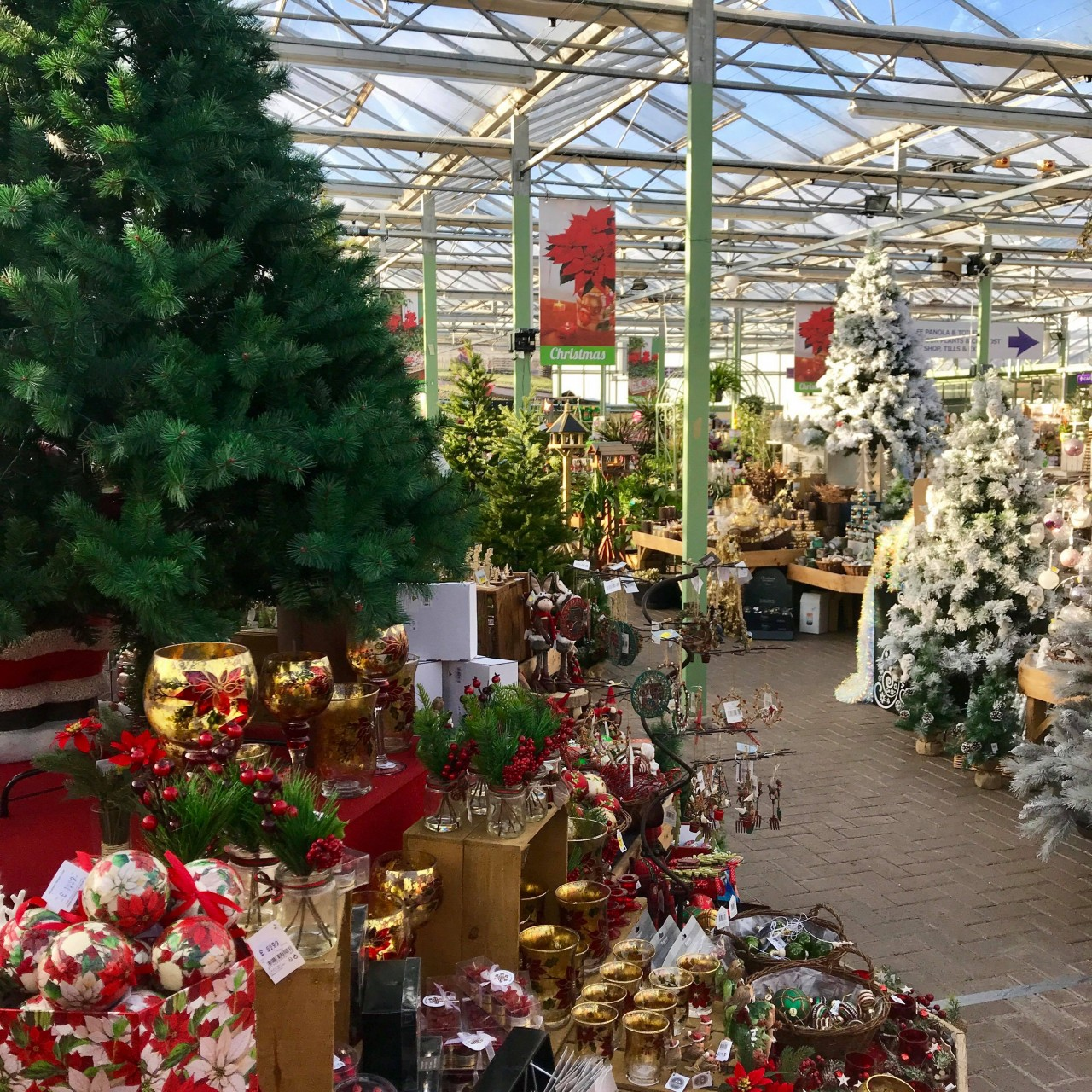 Here Are A Few Of The Lovely Decorations From Range Curly On In Annex At Pentland Plants