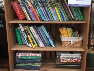 Books at Cafe Panola