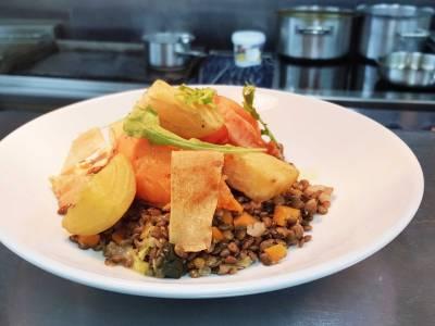 Christophe's vegan puy lentil stew recipe